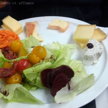 L'assiette de fromage du brunch