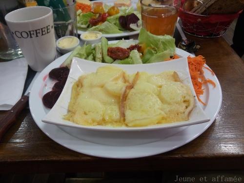 L'assiette raclette, brunch crémerie du 17°