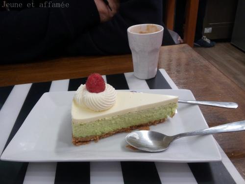 Le cheesecake de la crèmerie du 17e