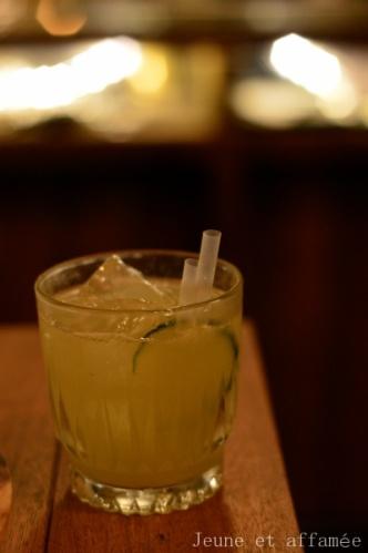 Cocktail le Green river au Lockwood