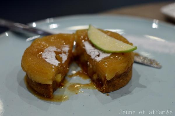 KL pâtisserie - tarte aux pommes