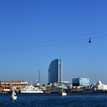 Le port de Barcelone