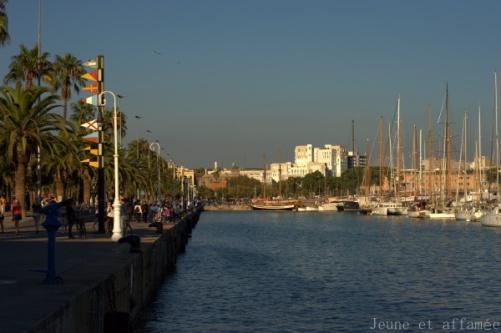 Barcelone, port
