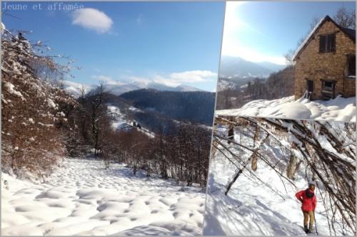 Les Pyrénées sous la neige