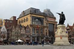 La Grand place de Gand
