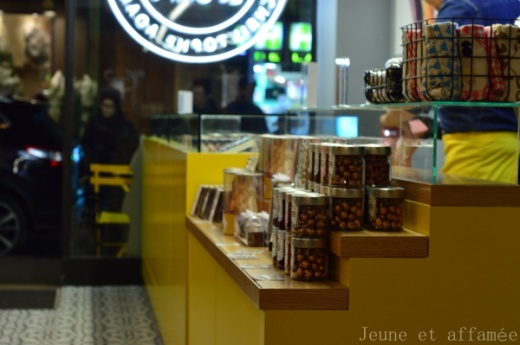 Le café EDG rue Lepic