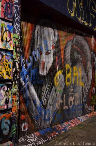 Street art dans les rues de Gand