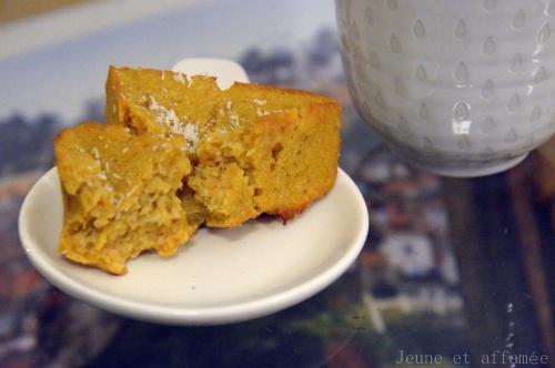 Gâteau coco/patate douce
