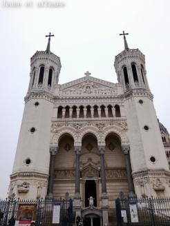 Lyon, basilique Fourvière