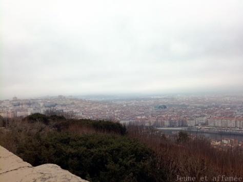 Vue sur Lyon