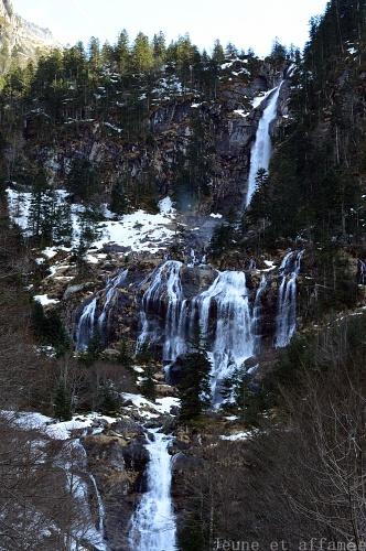 cascade aulus ariège