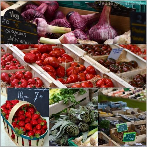 Arles, un marché coloré