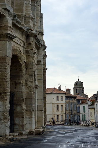 Les arènes antiques d'Arles