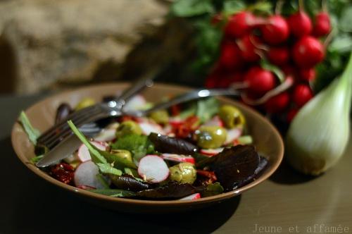 salade fenouil/radis