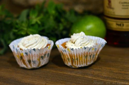 Cupcakes citron-menthe façon mojito