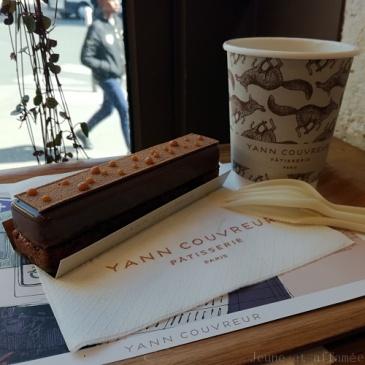 Eclair au caramel Yann Couvreur