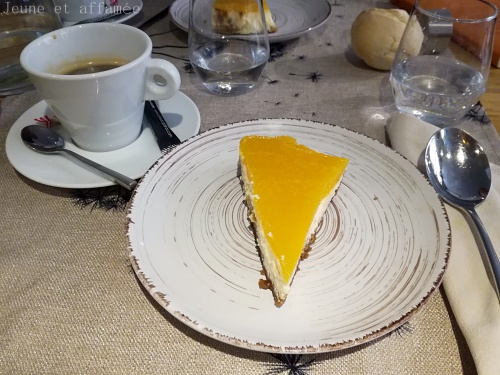 Cheese-cake mangue
