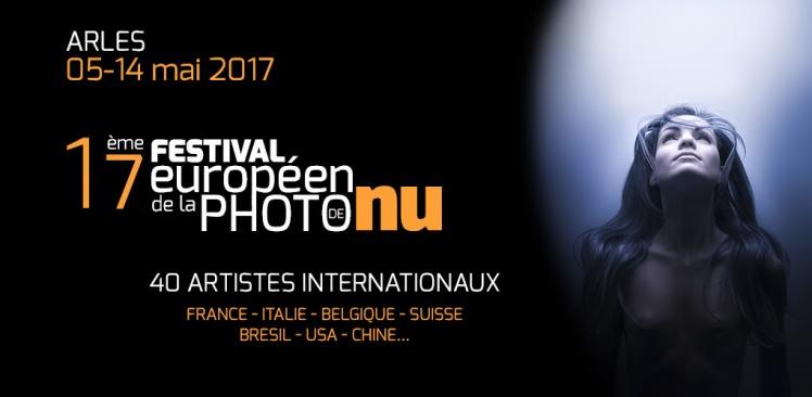 Affiche du festival de photo de nu à Arles
