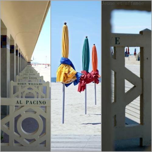 La célèbre plage de Deauville
