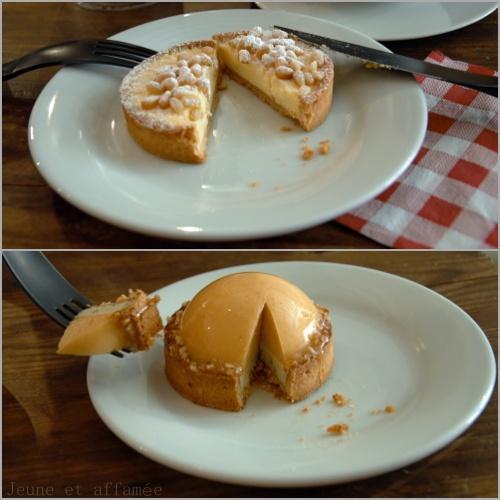 Découpe des gâteaux de Laurent Favre-Mot