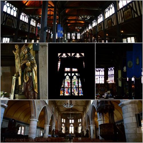 Eglises Sainte-Catherine et Saint-Léonard, Honfleur, Normandie