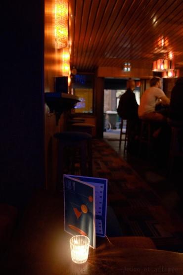 Le Bluebird, ambiance tamisée de la salle