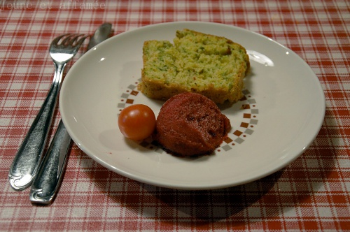 Cake carotte-persil-cumin