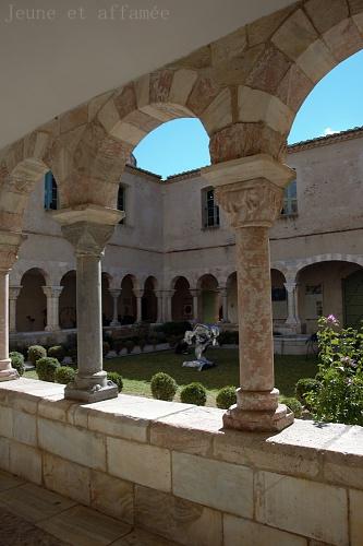 Le cloître de Saint-Genis des Fontaines