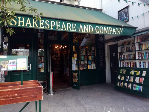 La librairie anglaise Shakespeare and compagny