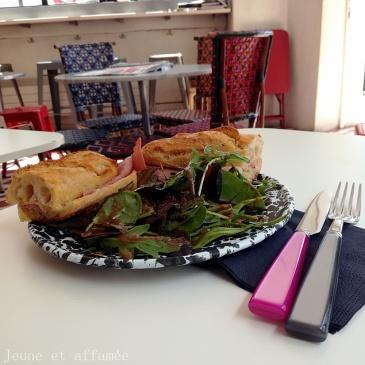 Sandwich jambon comté