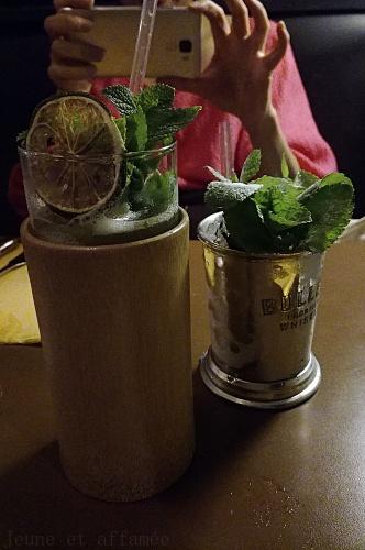 Les cocktails du Café Moderne