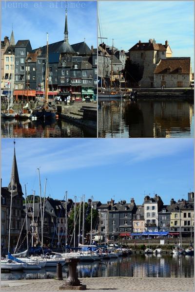 Le port de Honfleur, Normandie