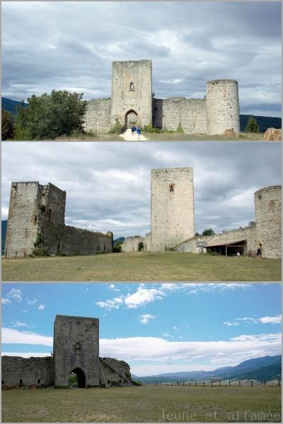 Le château cathare de Puivert