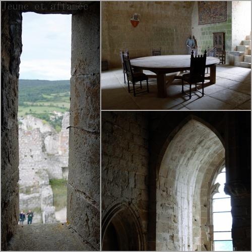 Château de Puivert, intérieur
