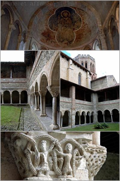 L'église et le cloître de Saint-Lizier