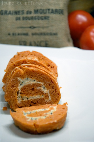 Roulés à la tomate