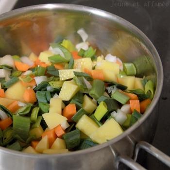 Recette du bouillon de légumes