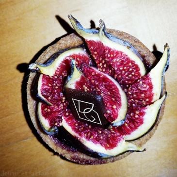 Tarte figue de VG pâtisserie
