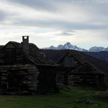Goutets et le mont Valier