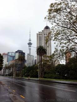 Auckland et la Sky tower