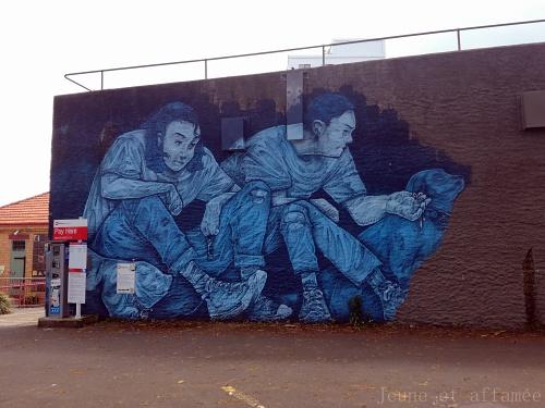 Sreet art Auckland
