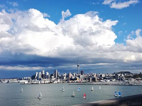 Auckland depuis le Northgate