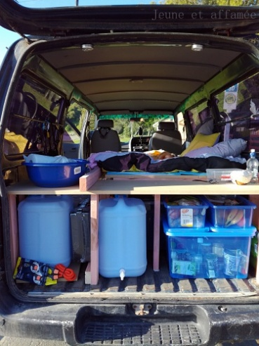 Road trip NZ - aménagement van