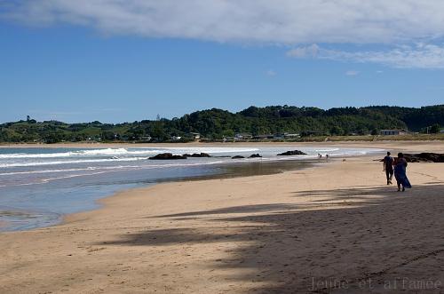 La plage de Matapouri