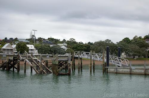 Le joli port de Russell