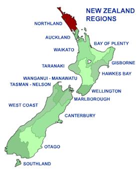 Northland, Nouvelle-Zélande
