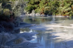 Mud pools, Wai-o-Tapu, New-Zealand