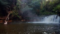 Kerosene creek, Rotorua, Nouvelle-Zélande