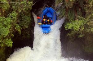 Rafting, Rotorua, New-Zealand