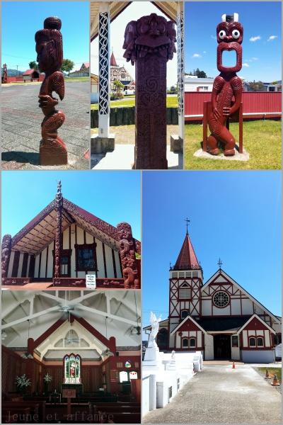 Art maori à Rotorua